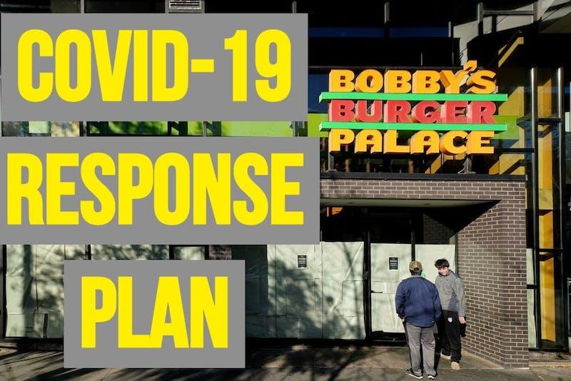 Bobby's Burger Palace COVID-19 Response Plan