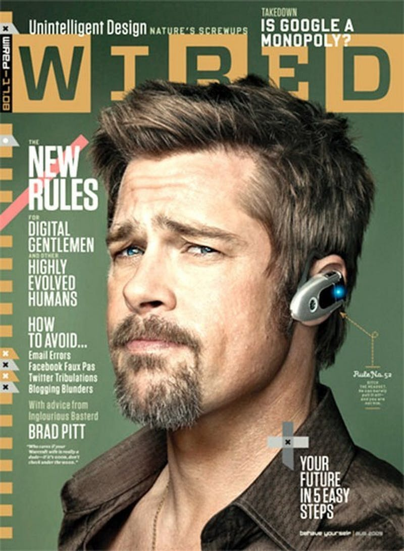 Need Some Textiquette? Wired And Brad Pitt Show You How