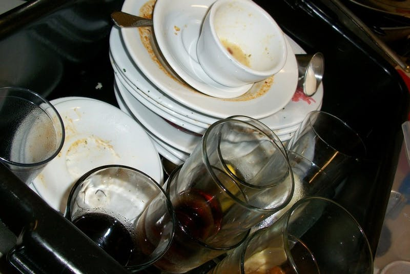 BREAKING: Your Roommate Just Posted a Picture of Your Dirty Dishes in the Group Chat