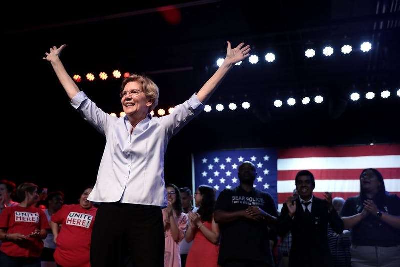 Democratic Presidential Candidate Who Is Not Elizabeth Warren to Visit Campus as If I Care