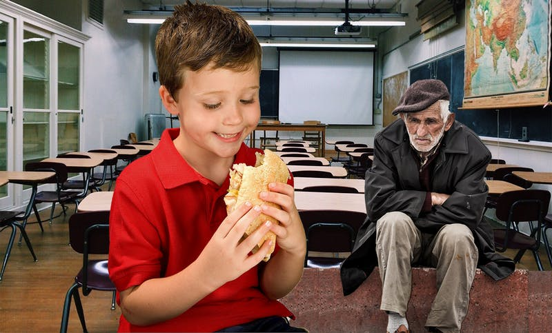 OP-ED: Sorry I'm Late, but Hey I Brought a Small Sandwich Just for Me