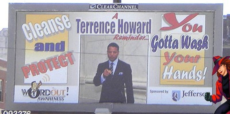 Where In Philadelphia Is This Terrence Howard Billboard?