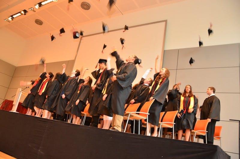 About Time! Penn Freshman Finally Graduates High School