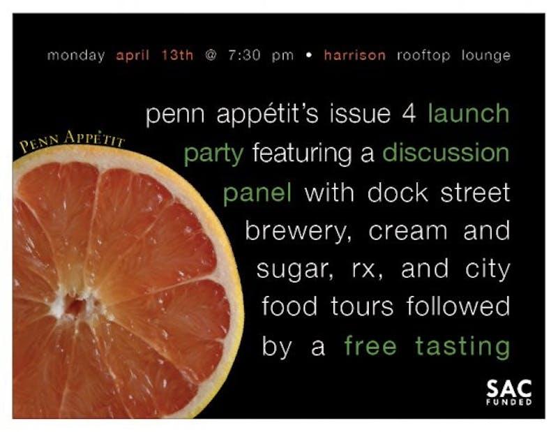 Food Tasting Tonight, Compliments Of Penn Appetit