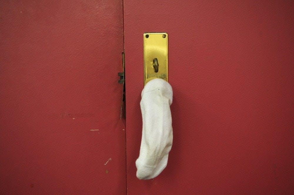 sock-door
