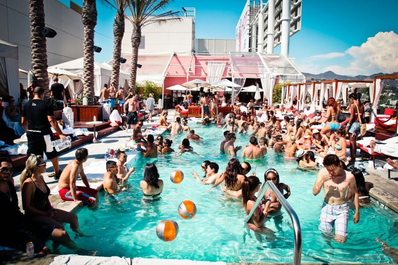 Uh Oh! New Pool Party Dress Code Excludes Jerseys, Crop Tops, and Privilege