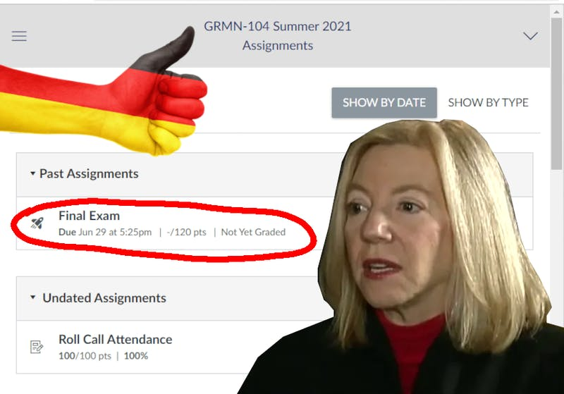 Gutmann to Become Ambassador to Germany, Pending Final Grade in GRMN-104