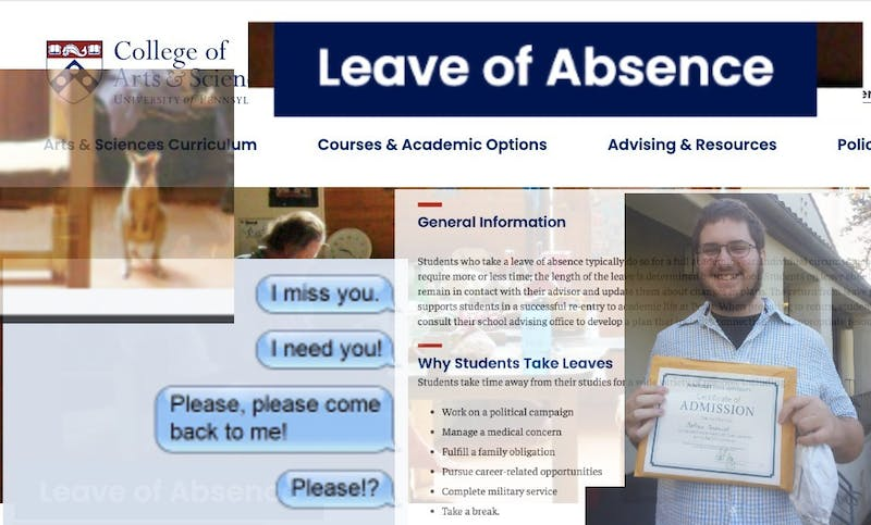 """Take Me Back bb"" Student on Leave of Absence Begs to Return in Spring Semester"