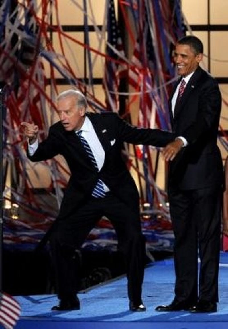 Biden Delivers a Disappointingly Blunder Free Grad Speech