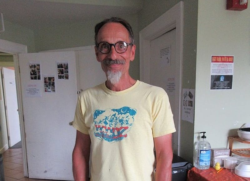 Cool Professor Wears Graphic T-Shirt to Class