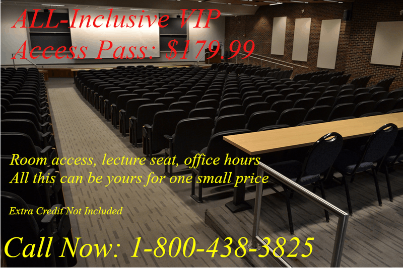 Students Required to Purchase Access Code for Classroom Door: Lecture Seat Optional
