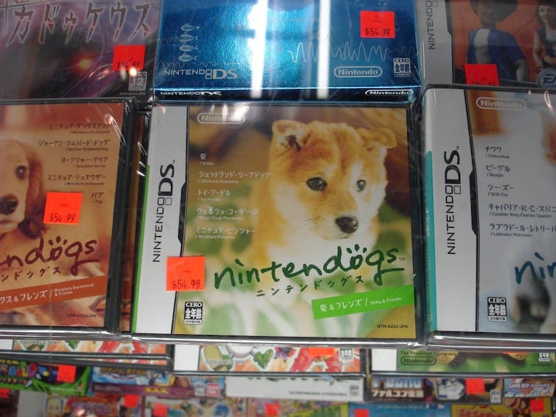 This Veterinary School Professor Wants to Teach Canine Medicine Using Nintendogs for DS