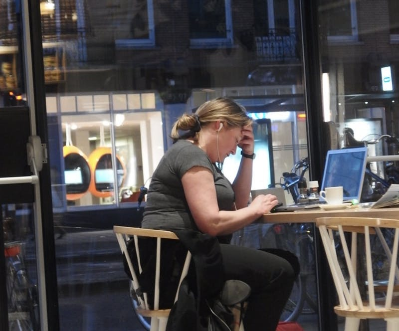 Student Walks 45 Minutes to Capital One Cafe to Do 15 Minutes of Work