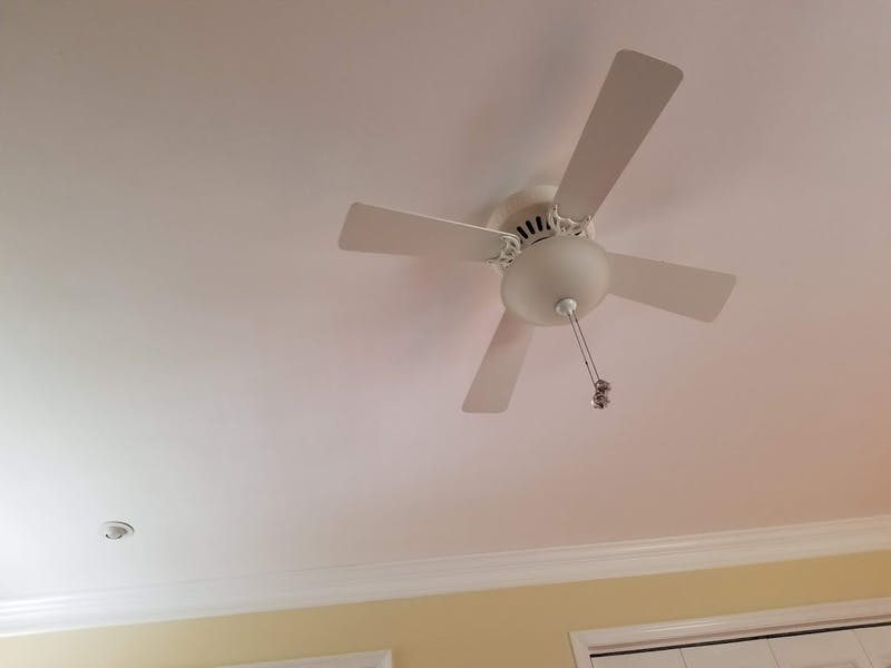 Report: Yup, Bedroom Ceiling Still Looks the Same