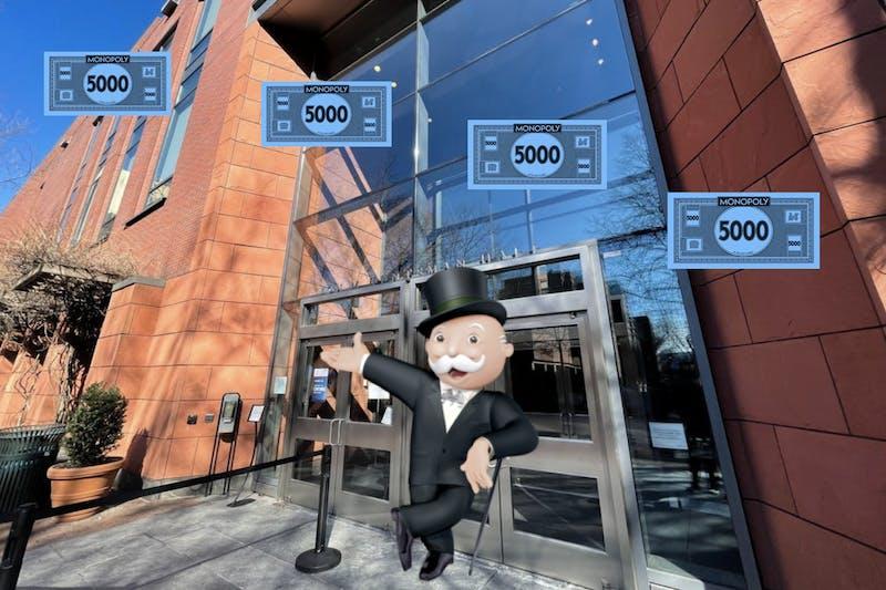 Wharton Receives $5 Billion Monopoly Money Donation, Plans on Acquiring Baltic Avenue