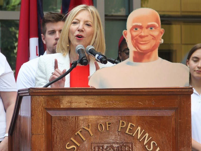 Mr. Clean to Step up as University Co-President