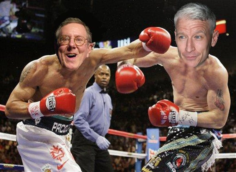 Forbes To Speak, Settle Imaginary Beef With Anderson Cooper