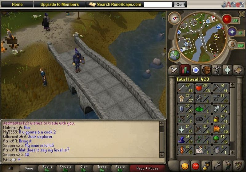 Student Thought to be Studying Abroad Actually On Campus, Just Really Into RuneScape