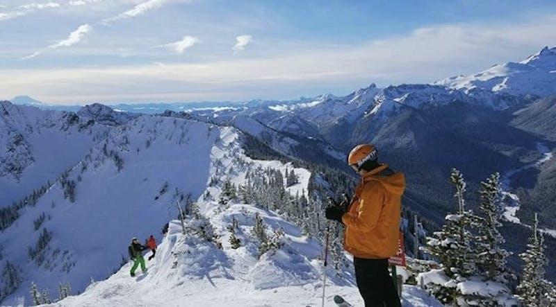 Student to Interview for Wharton MBA Program Fastens Ski Ticket to Arc'teryx