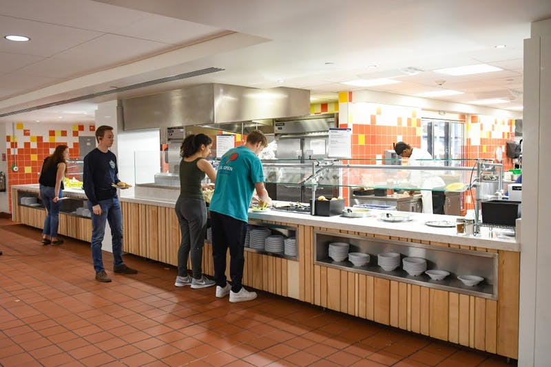 Hill Dining Hall to Open Food Truck