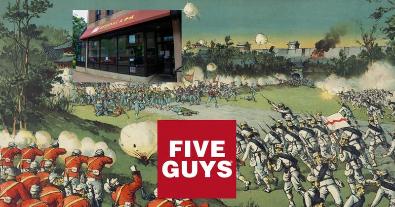 Five Guys Replacing Beijing Is Just Modern Day Colonialism