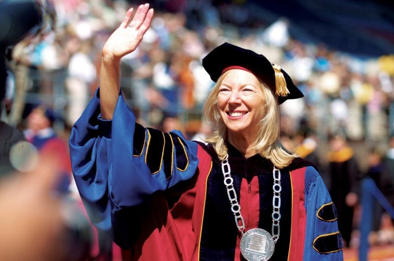 Amy Gutmann Reportedly Spending Up to 3 Hours Daily Practicing High Five