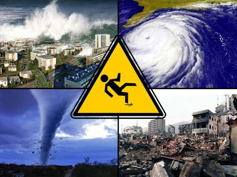 Student in Natural Disturbances and Human Disasters Is a Human Disaster