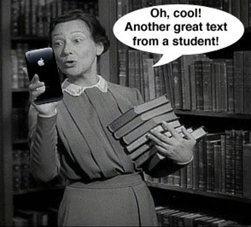 Finally, We Can Text The Librarians