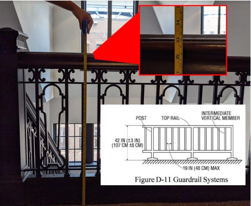 Penn, Do Better: Fisher-Bennett East Stairs Violate OSHA 1910.29(b)(1)