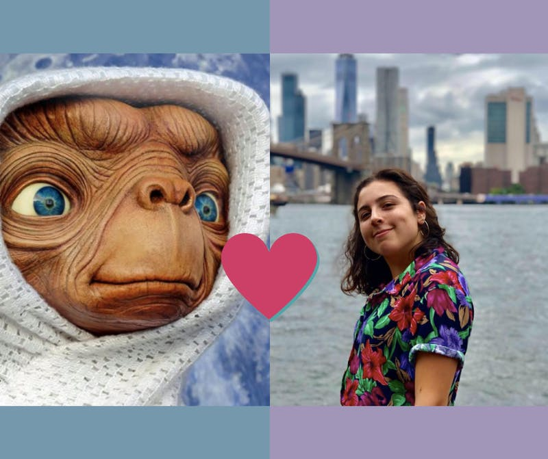 Short King! This Girl Is Taking E.T. to Her Date Night