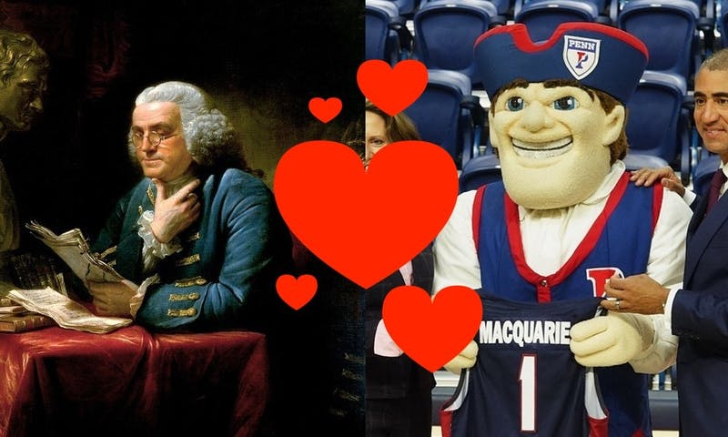 President Gutmann Reveals That Ben Franklin and the Quaker Mascot Had an 'Intense' Sexual Relationship