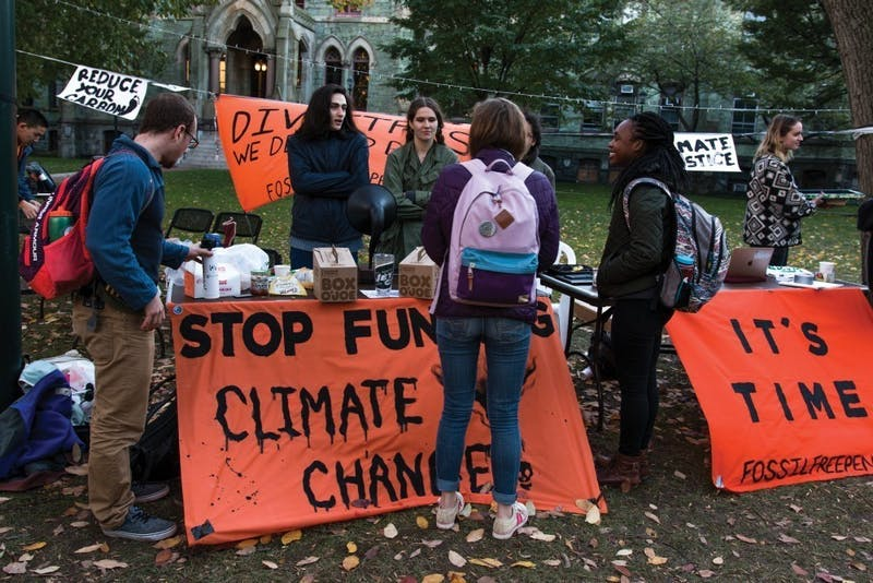 Fossil Free Penn Demands Santa Divest from Coal