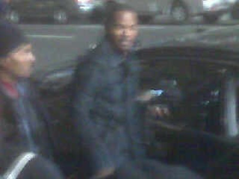 Gerard Butler And Jamie Foxx, Filming In Philly
