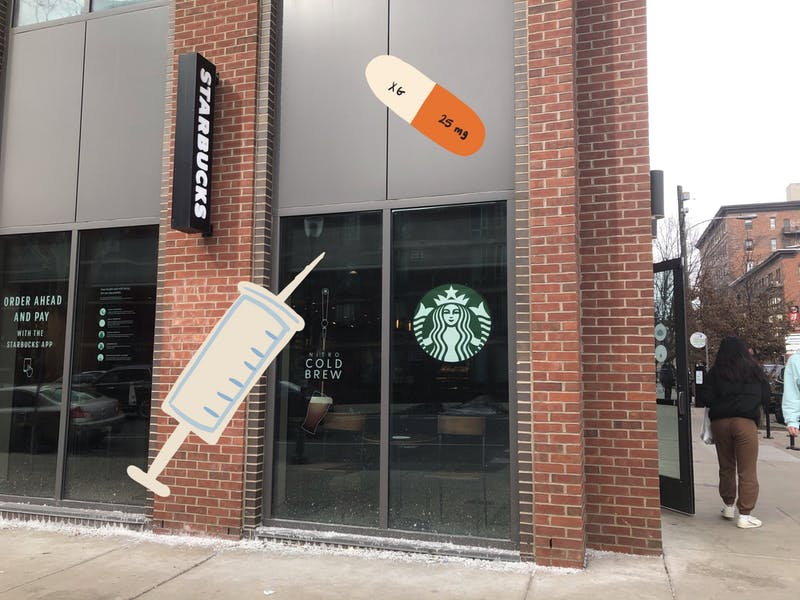 New Seasonal Starbucks Menu To Come!: Vaccine Boost for 10¢ or Adderall Pump for 15¢