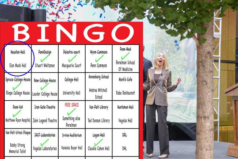One More Ceremony Until Gutmann Gets Dedication Bingo!