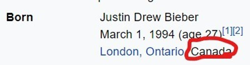 Fact Check: Justin Bieber Was Not Made in America