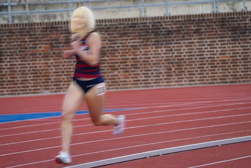 Amy Gutmann Wins Every Single Event in The Penn Relays For Second Year In Row