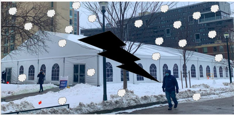 BREAKING: The Rodin Tent Under All That Snow
