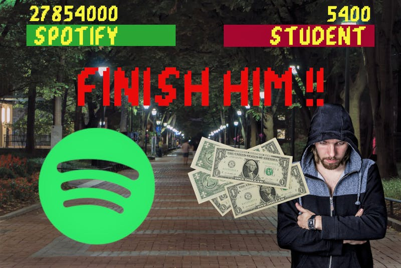 Fatality: Five Dollar Spotify Premium Fee Delivers Final Blow to Student's Bank Account