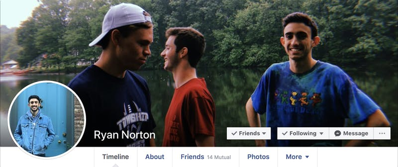 What a Dork! This Freshman's Cover Photo Isn't Even Promoting Anything