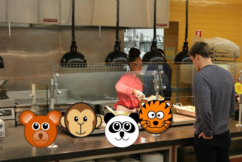 Commons Replaces All Plates with Zoo-Pals, Still Runs Out