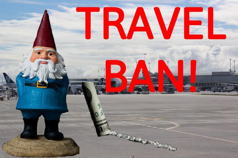 Travelocity Fires Gnome Leaving Him No Way to Pay for His Drug Addiction.
