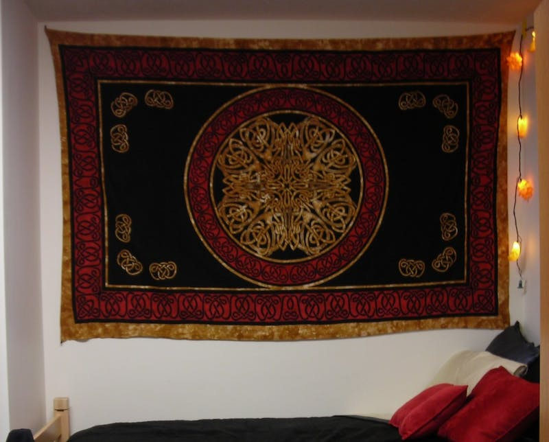 Study Abroad Student Returns With Exotic Tapestry From Target to Hang in Dorm