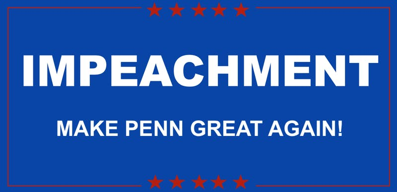Watch out Yale: Penn May Become Second Ivy to Have an Alum Impeached While President