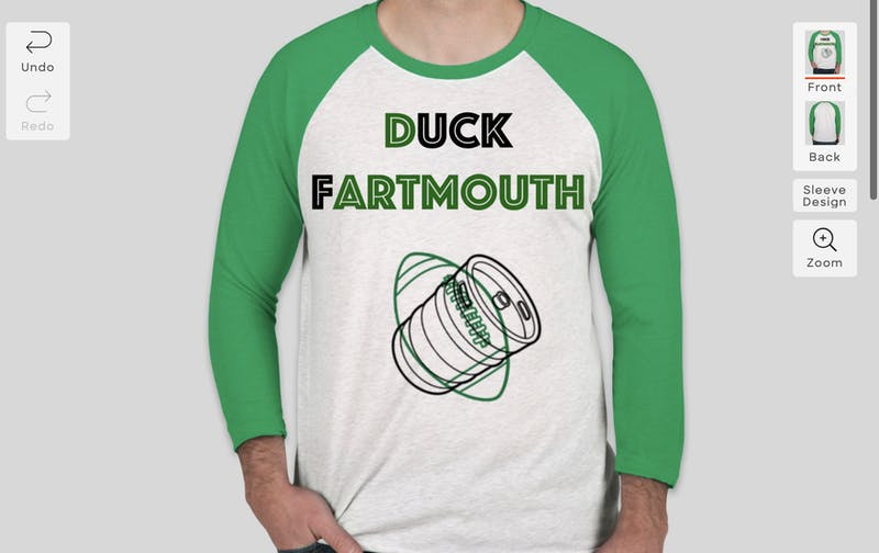 OP-ED: Forget Princeton, Gimme a Duck Fartmouth Shirt