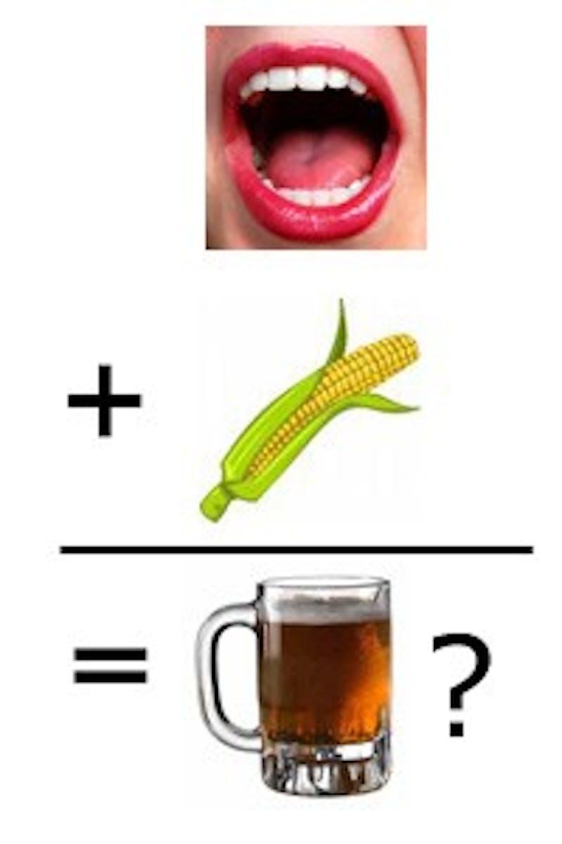 Penn Profs Make Corn Spit Beer