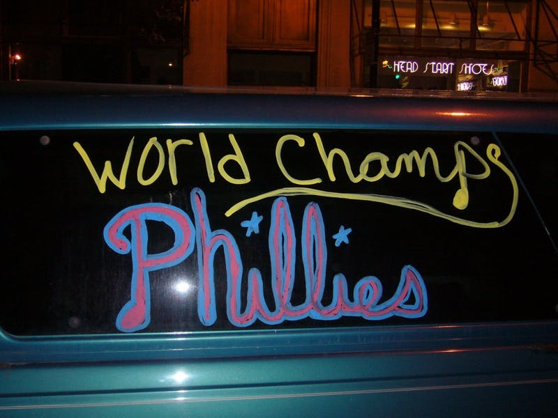 ShutterButton: Phillies Win World Series, Madness Ensues