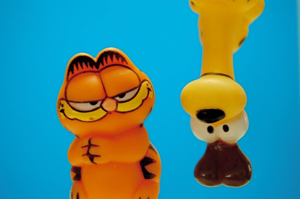 Garfield Named Presidential Professor Of Lasagna Under The Button