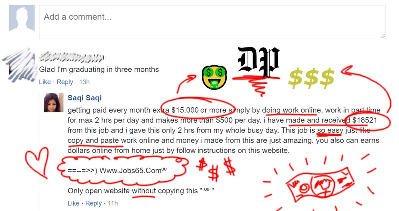 Good for Her! DP Commenter Says She Makes $250 An Hour From Home