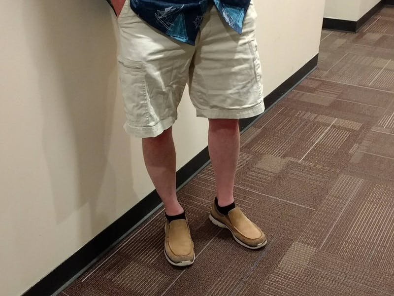 Engineering Freshman Not Wearing Cargo Shorts and Free T-Shirt Forced to Transfer